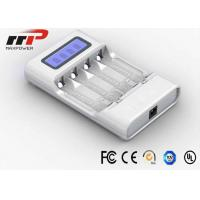 China Intelligent AA AAA LCD Battery Charger  on sale