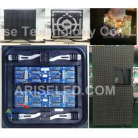 Wholesale P10 full color outdoor led display cabinet advertising front/rear service/front maintenanc from china suppliers