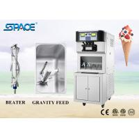 China Floor Standing Commercial Soft Serve Ice Cream Machine Three Flavors for sale