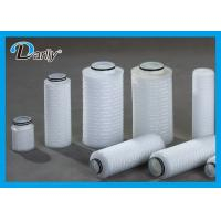 Best DLQF Series Micron High Flow Filter Cartridges ISO9001 FDA Standard Long Service Life wholesale