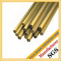 Wholesale solid hexagon brass rod from china suppliers