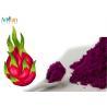 Non GMO Fruit And Vegetable Powder / Red Dragon Fruit Powder Sweet Taste for sale