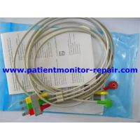 Placenta Monitor Medical Equipment Accessories 3 Lead Set Snaps Safety IEC M1615A for sale