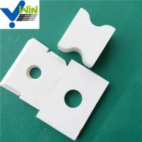 Wholesale Zibo cheap high temperature resistance alumina oxide ceramic tile from china suppliers