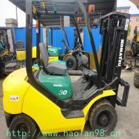 Wholesale used forklift 3t komatsu forklift 3ton from china suppliers