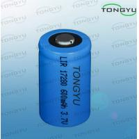 Wholesale Eco-friendly Lithium Ion Rechargeable Batteries 3.7V 600mAh For Flashlight / Diving Lights from china suppliers