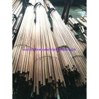 China Copper Brass Seamless / Welded Inconel Tubing ASTM 135 ASTM B43 For Refrigerator for sale