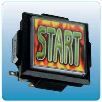 Wholesale Start Push Button Arcade Game Machine Parts With Micro Switch 60mm X 60mm Size from china suppliers