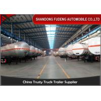 Wholesale Double / Three Axle LPG Tank Trailer ASME ADR GPL Tank / GLP Tanker 56000 Liters from china suppliers