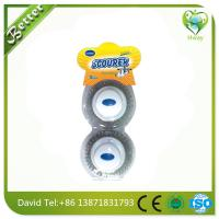 Wholesale 2016 hot hand steel wool cleaning brushes clean the pot stainless steel scourer from china suppliers