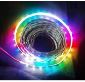 72leds/m high brightness ws2811 digital led strip lights