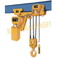 China 7.2 m / Min Max Lifting Speed 10 Ton Electric Chain Hoist For Single / Double Speed on sale