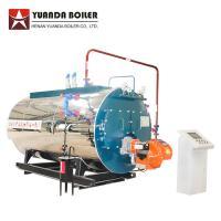 China Package Type Industrial Fire Tube Natural Gas Fired 1 Ton Steam Boiler for sale