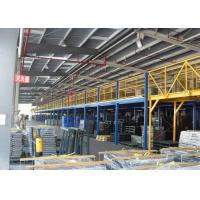 Large Load Capacity Structure Mezzanine Floors Platform For Industrial Warehouse Storage