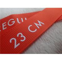 China Washable Screen Printing Tagless Labels  , Printed Labels For Clothing for sale