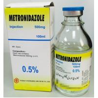Wholesale Metronidazole Injection 500mg / 100ml Infusion Medicine For Serious Infections Colourless from china suppliers