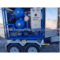 ZYD-M Mobile Trailer Transformer Oil,Movable Dielectric Oil Degassing, dehydration,Insulation Oil Purifier with Trolley for sale