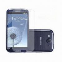 Wholesale PET Films, High Quality, Anti-scratch Clear Screen Protector for Samsung S3 from china suppliers