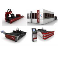 Wholesale High Performance HE Fiber Laser Cutting Machine For Sheet Metal / Pipe from china suppliers