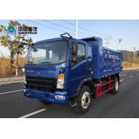 China SINOTRUK Homan Light Duty Commercial Trucks 5 Ton Loading Capacity 4x2 for sale