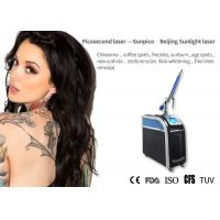 China Age Spot Picosecond Laser Tattoo Removal Machine Long Working 1mm - 10mm Diameter for sale