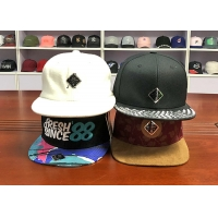 Buy cheap Cheap price Customize unisex hip hop 6 or 5panel mix color snapabck hats caps from wholesalers
