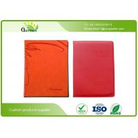 Wholesale Custom Planner Diary Offset Printing PU Embossed Leather Notebook With 100 sheets 80 Grams from china suppliers
