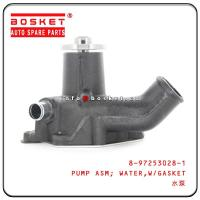 China ISUZU 4BG1 6BG1 XD Isuzu Engine Parts 8-97253028-1 8972530281 With Gasket Water Pump Assembly for sale