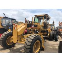 Used Caterpillar 140h Motor Grader Japan Grader 123KW With 6 Cylinder for sale