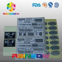 China Customized Express Labels / Sticker Shrink Sleeve Labels For Bag , Box , Card on sale