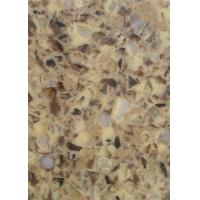 Wholesale Quartz stone, artifical slab micro-crystal stone countertop vanity 300x200cm from china suppliers
