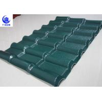 Wholesale Stable Fire Froof Synthetic Resin Roof Tile For Villa , Residential  2.3mm Thickness from china suppliers