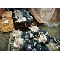 Wholesale High Speed Centrifugal Transfer Pump Capacity 80 - 180T/D Stainless Steel Material from china suppliers