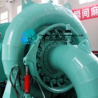 One Button Remote Control Francis Turbine Generator With DN1200-3200mm Pipe for sale