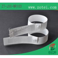 Wholesale RFID one-time PP paper wristband tag (HF/UHF, Product Type:ZT-JXX-WRI03) from china suppliers