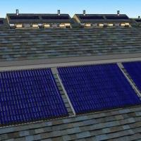 Solar Water with All-glass Vacuum Heat Collector Tube, Monomer Design, Can be Extended for sale