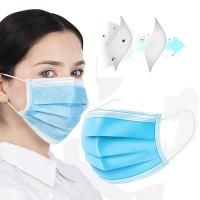 Wholesale Polypropylene Disposable 3 Ply Face Mask Flexible Earloop For Personal Health from china suppliers