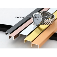 Wholesale Shiny Glossy Aluminium U Channels Shower Tile Metal EdgeFor Interior Decor from china suppliers