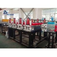 Wholesale 3 Phase Plastic Sheet Extrusion Machine PVC Powder Conical Twin Screw from china suppliers
