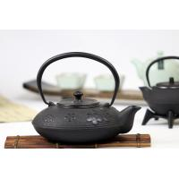 Wholesale Plum Blossom Cast Iron Tea Set , Chinese Antique Cast Iron Tea Kettle 1200ml from china suppliers