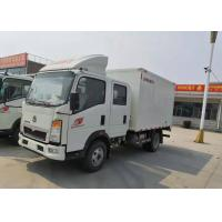 Diesel Cargo Light Duty Commercial Trucks , Light Duty Box Trucks 20 Cbm for sale
