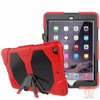 Wholesale Full protective housing stand hybrid rubber kidsproof case for iPad 9.7' 2018 6th iPad cover from china suppliers