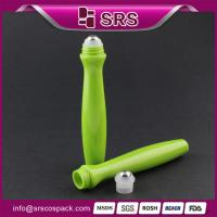 Wholesale SRS high quality no leakage 15ml eye cream roll on bottle applicator from china suppliers