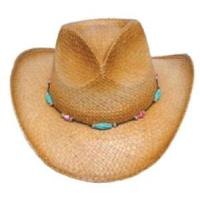 Wholesale western straw cowboy hat from china suppliers
