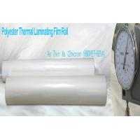 Wholesale Thin PET Laminating FilmGlossy Finish from china suppliers