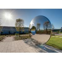 Wholesale Morden Highly Polished Stainless Steel Sculpture Torus For Lawn Featuring from china suppliers