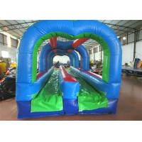 China Commercial inflatable arch water slide classic inflatable bridge shape water slide for sale