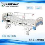 Alumum Guard Rails Adjustable Medical Beds Two Motors , 250KGS Max Load