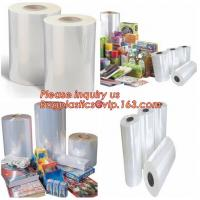 Quality China pof plastic film cross linked pof shrink film,pof plastic film heat shrink pof packaging film,POF Package Film Str for sale