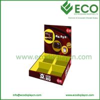 Quality ECO Friendly Recyclable Food Snacks Paper Counter Display Box for Retail for sale